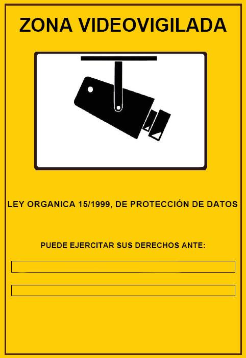 Instaladores de c maras de seguridad en huesca sistemas - Cartel de videovigilancia ...